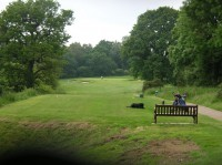 Dexter on the 6th tee,northamptonshire county golf club, ncgc, finest courses
