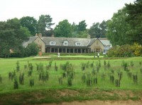 18th green and clubhouse,northamptonshire county golf club, ncgc, finest courses