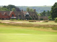 clubhouse and South Downs