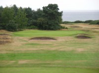 The short 14th nairn, Nairn golf club, finest courses