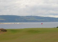 Chanonry lighthouse behind 16th, finest courses