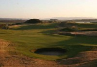 Evening view from showers! finest courses