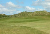 The 13th green