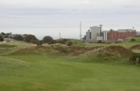 Mill behind 4th green