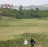 Peter and Helen on the 15th