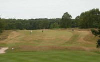 Highgate's 1st drive, enville golf club, finest courses