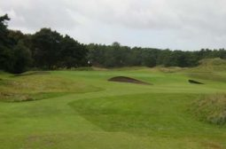 The 16th hole at Formby golf course