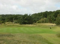 formby golf club, 6th green, finest courses