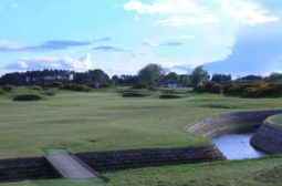 carnoustie 17th green