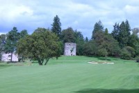 Loch Lomond golf club, 18th hole,