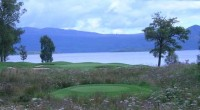 Loch Lomond golf club, 5th hole