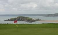 thurlestone golf club, finest courses, burgh island