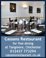 Cassons resaurant, west sussex, hayling, finest courses