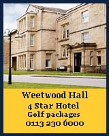 weetwood hall hotel, finest golf courses