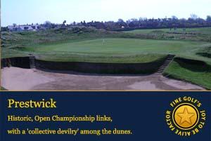 open golf championship, Prestwick golf club,