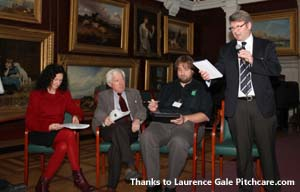 Steve Isaac RandA, Christian Spring STRI, John Moverley Amenity forum, Su Hodgson Symbio