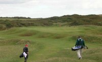 Royal porthcawl, modern retro trend back to the running game, fine golf course review