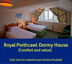 royal porthcawl, dormy house,