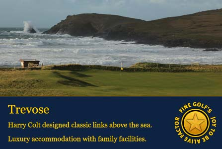 st enodoc, trevose, perranporth golf club, west cornwall golf club,