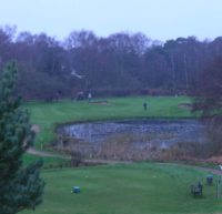 thorpeness golf club, running golf,
